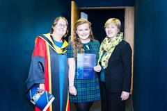 Congratulations to Grace Cunningham on receiving Mary I Award for High Leaving Cert Achieved