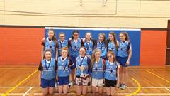1st Year Girls Basketball Success